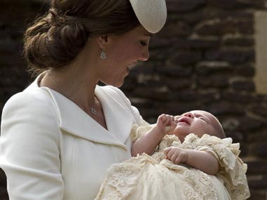 3 future kings, 5 godparents and a royal baby: Princess Charlotte christened in intimate ceremony
