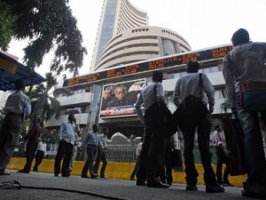 Sensex down 102 points in cautious trade, slips below 35,000 mark; power, banking, realty stocks decline; Re dips