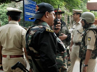 Mentally unstable undertrial snatches rifle from cops in Nimhans; killed in commando operation