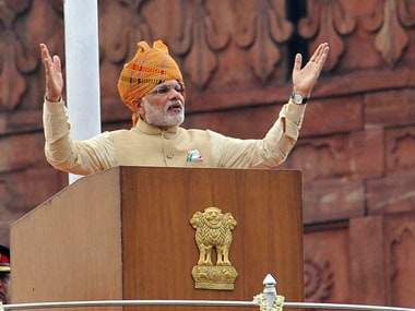Independence Day Live: We have accepted One Rank One Pension, PM Modi declares