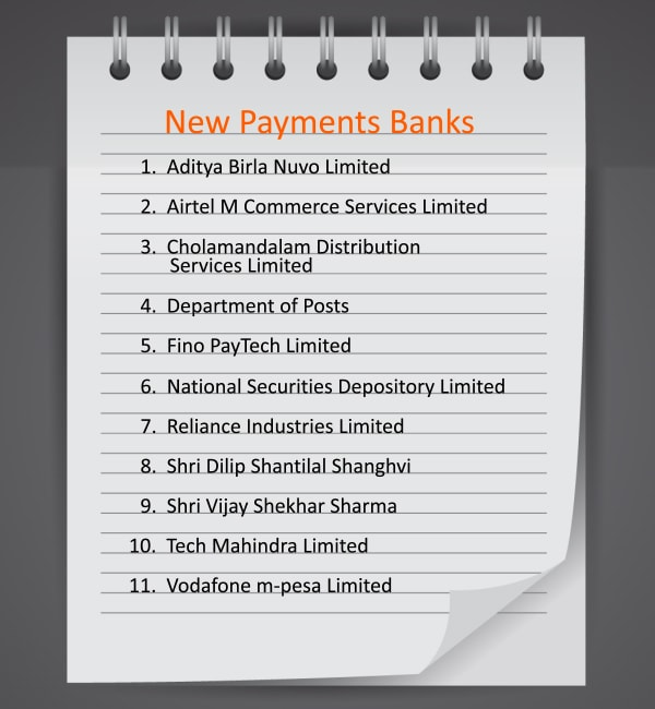 New Payments Banks