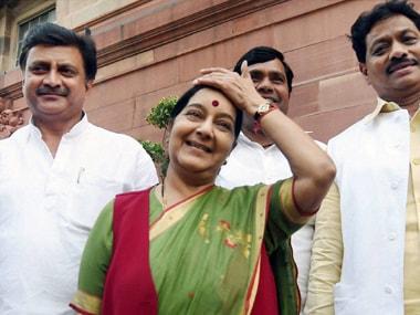 Sushma Swaraj tears into Rahul in Lok Sabha, but loses battle of perception