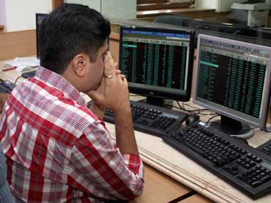 Amid weak China, Sensex tumbles over 300 pts early Mon; PSU bank shares buck trend