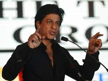 File photo of Shah Rukh Khan. AFP