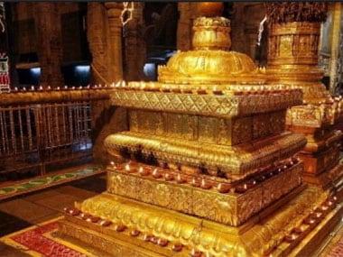 File image of the Tirumala temple. IBN Live
