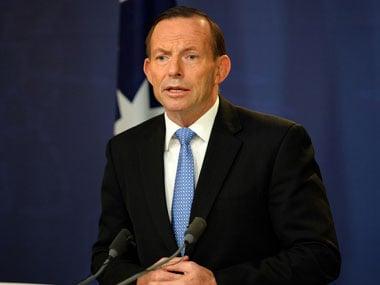 Tony Abott. AFP