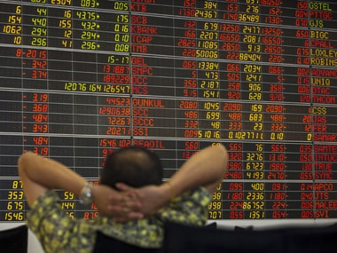 Asian share markets relieved as China data point to recovery; dollar surges