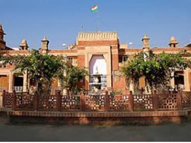 File image of the Rajasthan High Court. Image courtesy: raj.nic.in