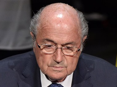 Sepp Blatter. AP