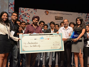 Winning moment at Conquest 2015.