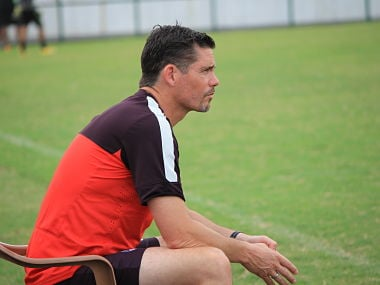 India under-16 football teeam coach Nicolai Adam. AIFF