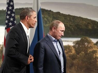 File photo of Putin and Obama. Reuters