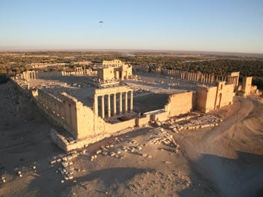 File photo of Palmyra. AFP