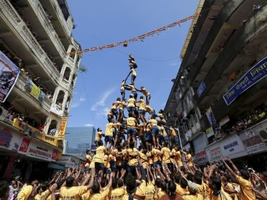 Janmashtami celebrations. Reuters