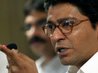 File image of Raj Thackeray. AFP
