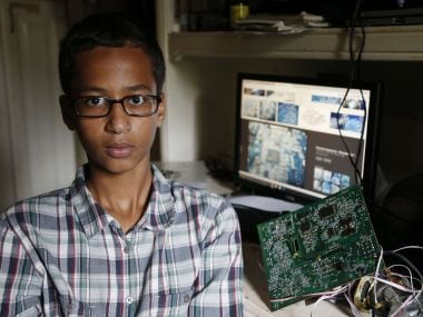 Dont let people change who you are, says Ahmed, clock-maker student arrested in US