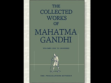Original edition of the Collected Works of Mahatma Gandhi now in digital form
