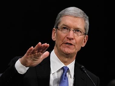 File image of Apple CEO Tim Cook. Reuters