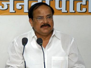 Venkaiah Naidu AFP