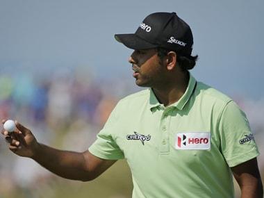 Golf: Anirban Lahiri tied 10th on day one of Hero World Challenge
