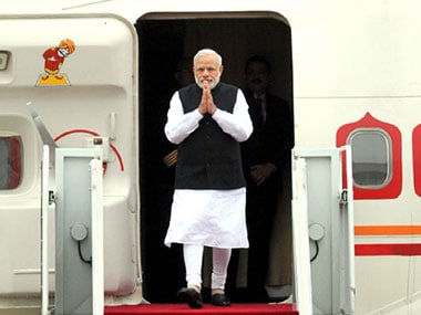 PM Narendra Modi leaves for his visit to Ireland and US