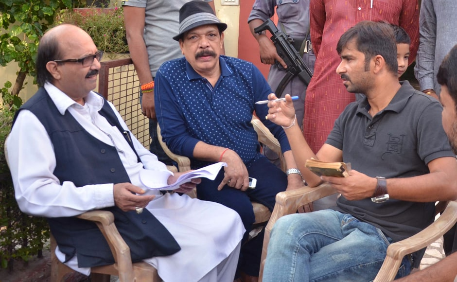 Lights, camera, action: Politician Amar Singh shoots for upcoming film JD