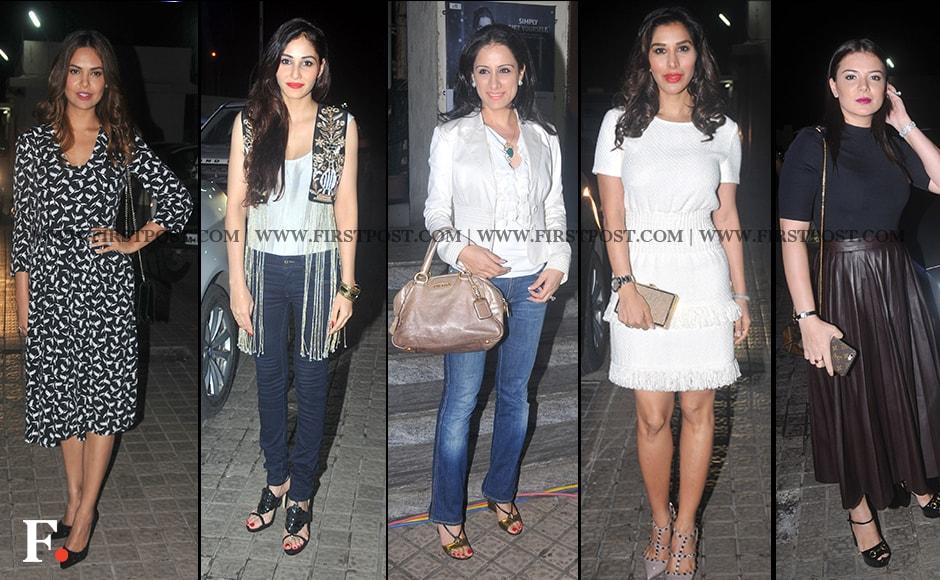 Esha Gupta, Pooja Chopra, Rubal Negi, Sophie Chaudhry, Urvashi Sharma - Joshi