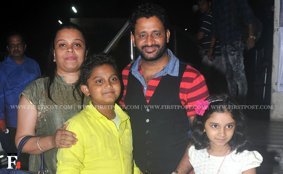 Rusul Pukkutti with his family