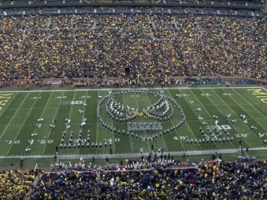 Marvelous: American university's marching band pays tribute to the Marvel universe
