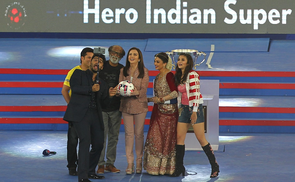 From Sachin Tendulkar to Superstar Rajinikanth: ISL's star-studded opening ceremony