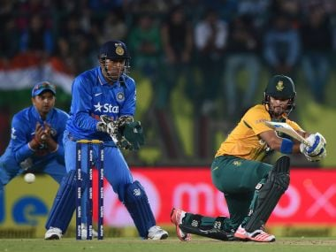File photo of India vs South Africa T20I. AFP