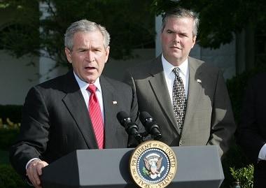 George W. Bush, Jeb Bush