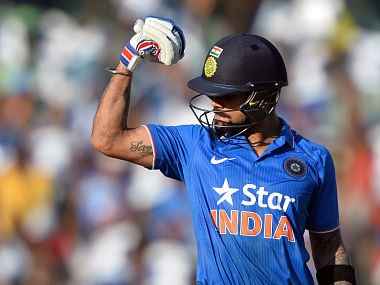 Kohlis 23rd ODI ton trumps de Villiers 22nd as India draw level against South Africa