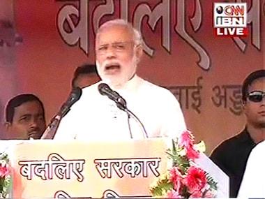 PMs Bihar rallies: In Samastipur, Modi says paani and jawaani are assets for Bihar