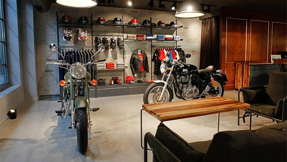 Royal Enfield opens first two exclusive stores in France and Spain