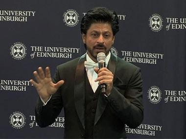 Full text: Doctor Shah Rukh Khan advises on life and love at the University of Edinburgh