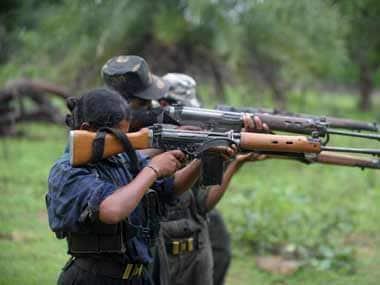 Maoists threat. AFP