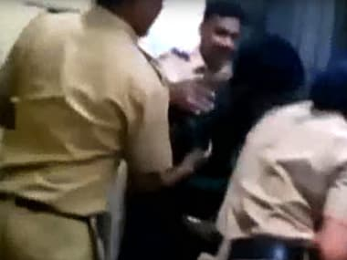 Watch: Video of Mumbai cops thrashing couple inside police station sparks outrage