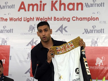 British boxer Amir Khan. AFP