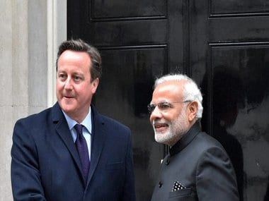 Modi in UK: India, Britain pledge to work together on climate change