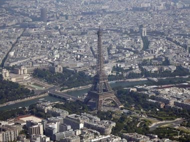 File image of Eiffel Tower. Reuters