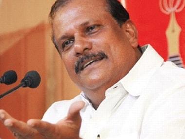 File image of PC George. PTI