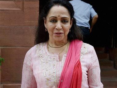 Congress trains gun on Hema after Maharashtra allots prime plot for Mathura MPs dance academy