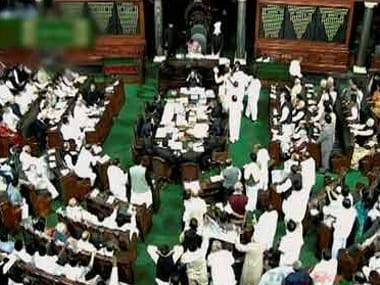 File image of the Lok Sabha. PTI