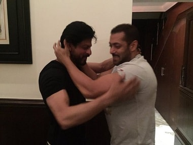Shah Rukh Khan seems to love sharing screen space with Salman, with Tubelight and Bigg Boss