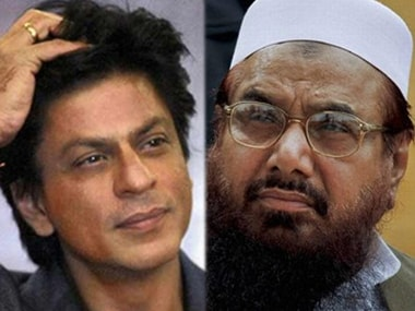 Shah Rukh Khan gets invited to stay in Pakistan by JuD chief Hafiz Saeed