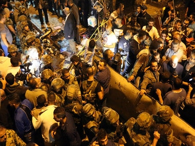 Deadliest attack on Beirut in years/ AP