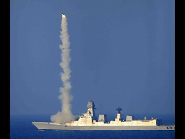 Brahmos was test fired from INS Kochi on Wednesday. Source: Brahmos official website