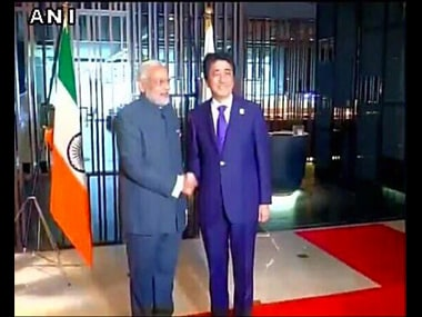 Major embarrassment: Indian tiranga hoisted upside down during PM Modis and Japans Abe photo-op