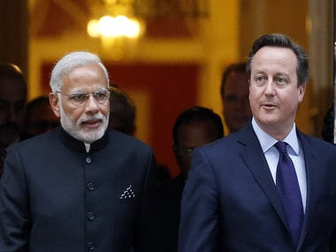 British Premier David Camerons aide to visit India to boost financial, infrastructure ties